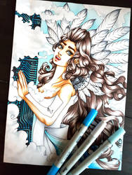 Bora Angel by Sarah-Lia