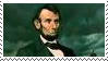 Abraham Lincoln Stamp by TheDauphine