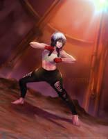 Karsen-Fighting pose by ArtofLariz