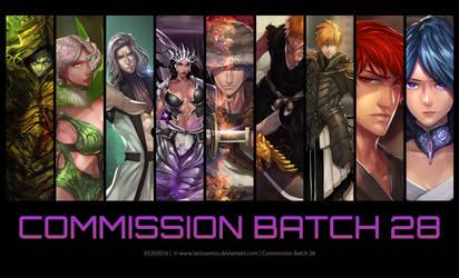 Commission Batch 28 by ArtofLariz