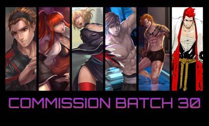 Commission Batch 30 by ArtofLariz