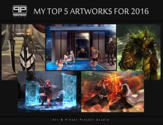 2016 Digital Artworks by ArtofLariz