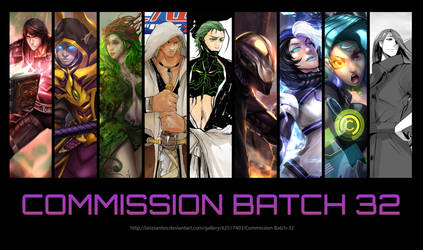 Commission Batch 32 by ArtofLariz