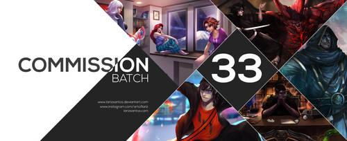 Commission Batch 33 by ArtofLariz