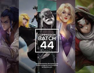 Commission Batch 44 by ArtofLariz