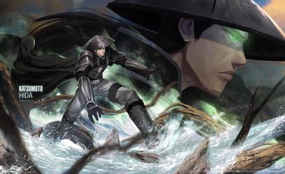 Katsumoto Hida_The Ambush Crusher by ArtofLariz