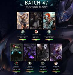 Commission Batch 47 by ArtofLariz