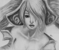 League of Legends Sona by Rain075