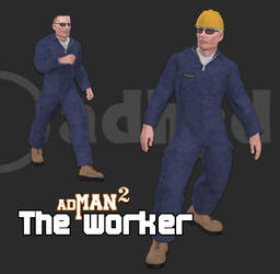 The worker for adman v2 by adh3d