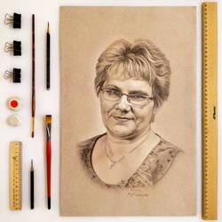 No.1 ''People's characters'' by MiroslavaMorozova