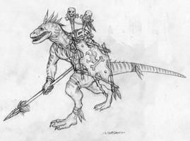 Lizardmen by willowWISP