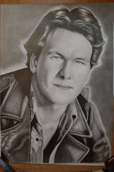 Patrick Swayze by Miniart89
