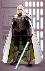 Jedi Knight Victoria Mikaru by crcarlosrodriguez