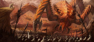 Fire Colossus by Mahiky
