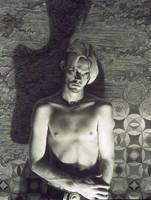 Self Portrait 1997 - drawing by dizzykid