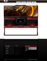 Portfolio Layout no.1 by deNOIR