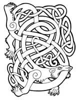 celtic bear by MissSabrina