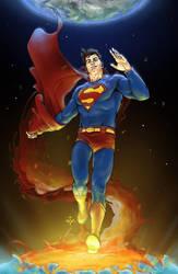 AllStar Superman Supes by yifanjiang