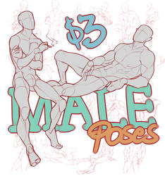Male Pose Pack by spectr00m