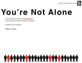 Depression PSA I by Namelessblob