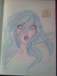 Surprised Mermaid by Velerina-chan