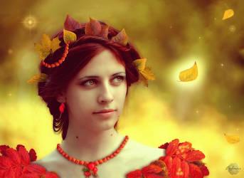Lady Autumn by Lughnara