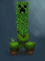 Creeper Minecraft by a-mini-boss