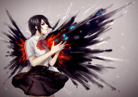 Tokyo Ghoul: Touka by Alicere