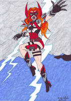 The Crimson Thunder by CrimsonVlkyrie