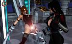 Prisoner of the Lambda Syndicate - Nyx's Device 2 by CrimsonVlkyrie