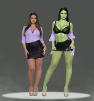 She Hulk by Falconartstudio