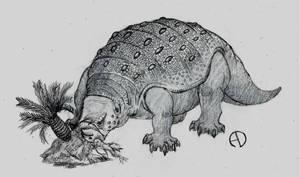 Retrosaur Challenge 1: Primitive Herbivore by SaurArch