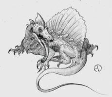 Retrosaur Challenge 2: Primitive Carnivore by SaurArch
