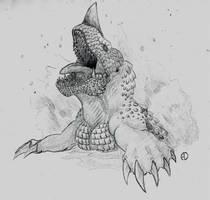 Retrosaur Challenge 17: Apex Predator by SaurArch