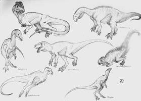 Dinosaur Phylogeny: Early Dinosaurs by SaurArch