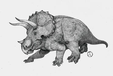 Triceratops by SaurArch