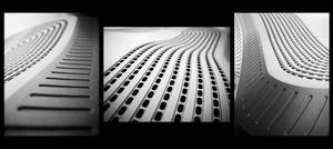 Monitor - Triptych by Bojkovski