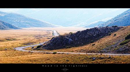 Road to the lightness by Bojkovski