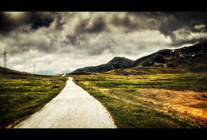 Road to the clouds by Bojkovski
