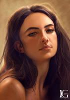 Amerlia Zardo by Kevin-Glint