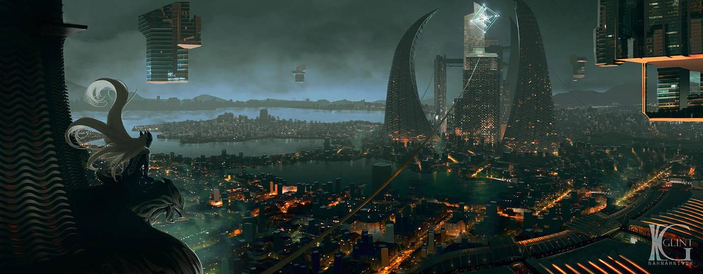 Metropolis by Kevin-Glint