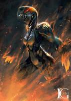 Warframe - Fiery Blaze by Kevin-Glint