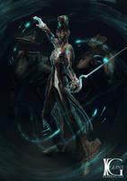 Warframe - Void Dance by Kevin-Glint