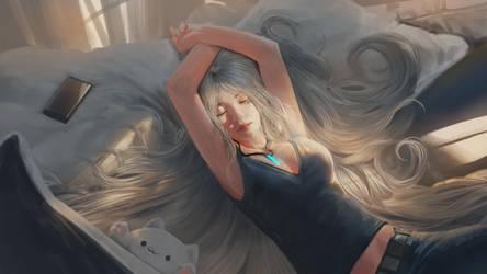 Sunday Rest by Kevin-Glint