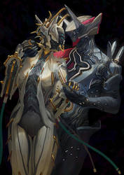 Valkyr and Volt by Kevin-Glint