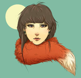 Fox (finished) by aRiBoObOo