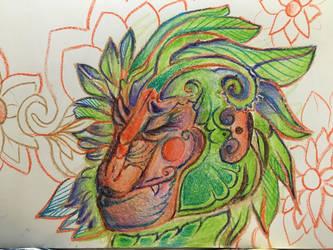 Monkey by StacieWacieee