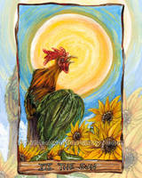 The Sun Tarot Card by sobeyondthis