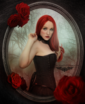 Deadly little Rose by dienel96