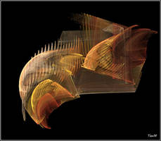 Fractal Fish by ludd1te